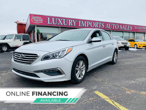 2015 Hyundai Sonata for sale at LUXURY IMPORTS AUTO SALES INC in North Branch MN