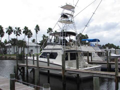 "1990 HATTERAS 48 ""GONE"" for sale at Auto Quest USA INC in Fort Myers Beach FL"