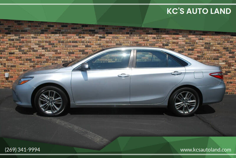 2016 Toyota Camry for sale at KC'S Auto Land in Kalamazoo MI