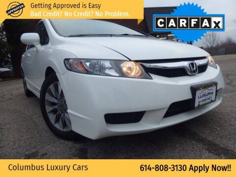2010 Honda Civic for sale at Columbus Luxury Cars in Columbus OH