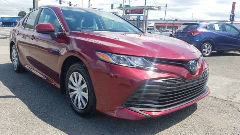 2019 Toyota Camry Hybrid for sale at Seattle's Auto Deals in Seattle WA