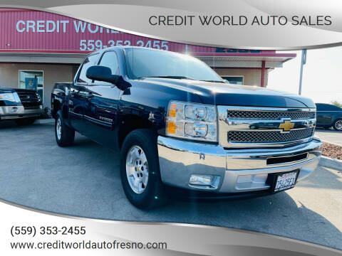2012 Chevrolet Silverado 1500 for sale at Credit World Auto Sales in Fresno CA