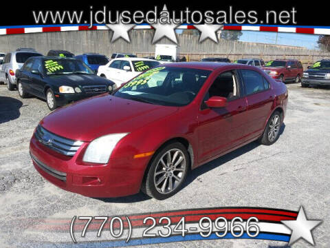 2008 Ford Fusion for sale at J D USED AUTO SALES INC in Doraville GA