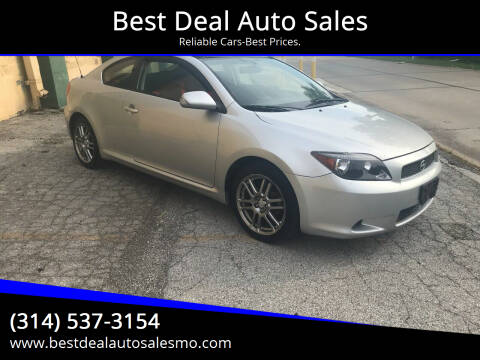 2007 Scion tC for sale at Best Deal Auto Sales in Saint Charles MO