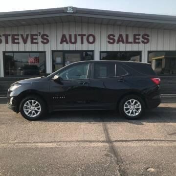 2020 Chevrolet Equinox for sale at STEVE'S AUTO SALES INC in Scottsbluff NE