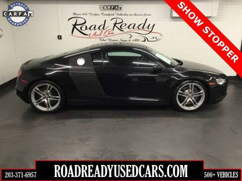 2012 Audi R8 for sale at Road Ready Used Cars in Ansonia CT