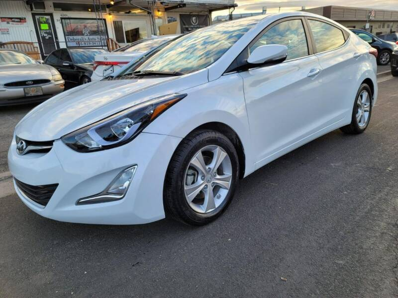 2016 Hyundai Elantra for sale at High Line Auto Sales in Salt Lake City UT