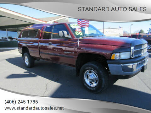 2000 Dodge Ram Pickup 2500 for sale at Standard Auto Sales in Billings MT