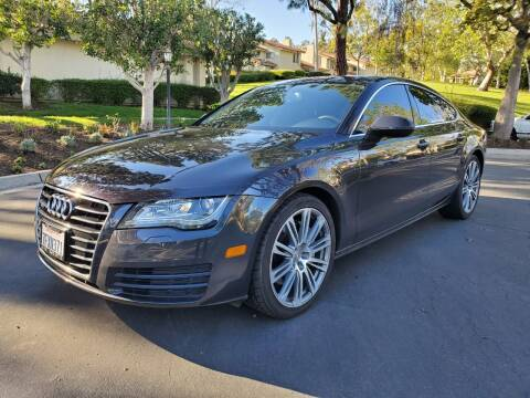 2014 Audi A7 for sale at E MOTORCARS in Fullerton CA