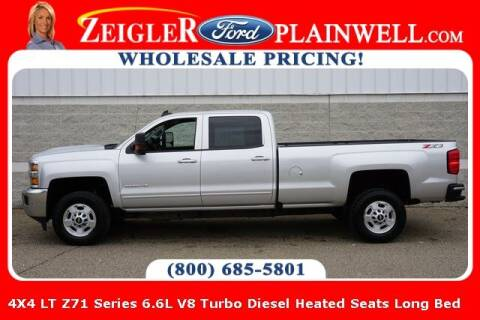 2019 Chevrolet Silverado 2500HD for sale at Zeigler Ford of Plainwell- Jeff Bishop in Plainwell MI