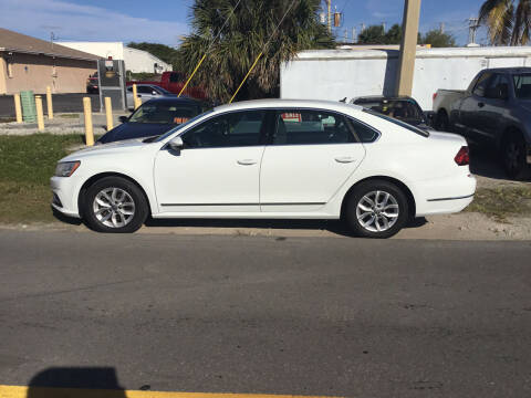 2017 Volkswagen Passat for sale at Second 2 None Auto Center in Naples FL