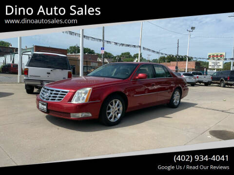 2010 Cadillac DTS for sale at Dino Auto Sales in Omaha NE