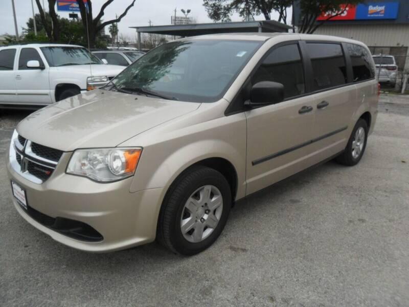 2013 Dodge Grand Caravan for sale at Talisman Motor City in Houston TX