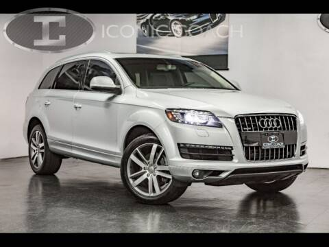 2012 Audi Q7 for sale at Iconic Coach in San Diego CA