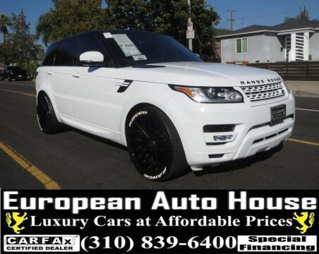 2016 Land Rover Range Rover Sport for sale at European Auto House in Los Angeles CA