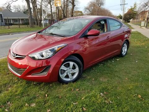 2015 Hyundai Elantra for sale at RBM AUTO BROKERS in Alsip IL