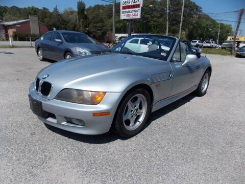 1998 BMW Z3 for sale at Deer Park Auto Sales Corp in Newport News VA