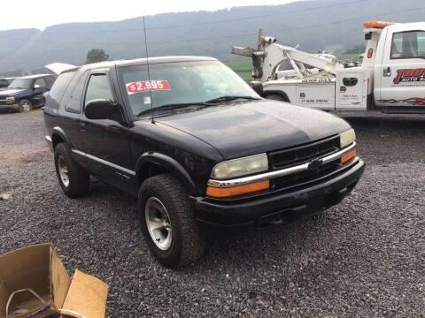 2000 Chevrolet Blazer for sale at Troys Auto Sales in Dornsife PA