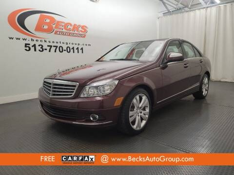 2008 Mercedes-Benz C-Class for sale at Becks Auto Group in Mason OH