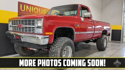 1984 GMC C/K 1500 Series for sale at UNIQUE SPECIALTY & CLASSICS in Mankato MN