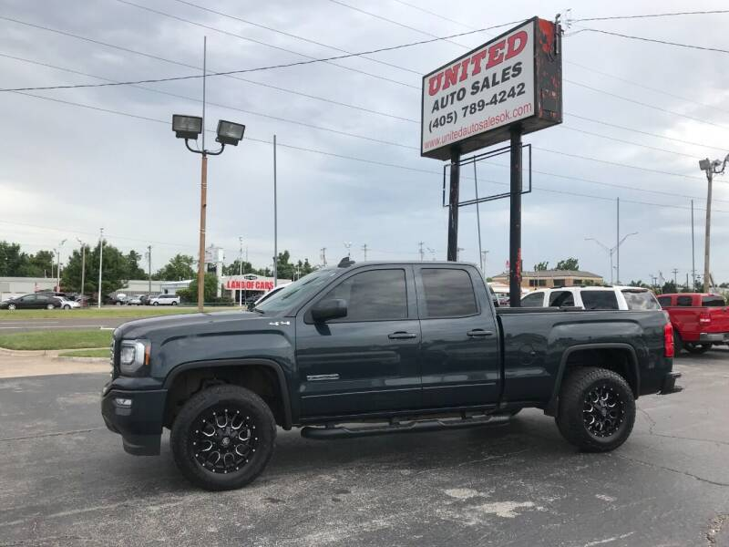 2017 GMC Sierra 1500 for sale at United Auto Sales in Oklahoma City OK