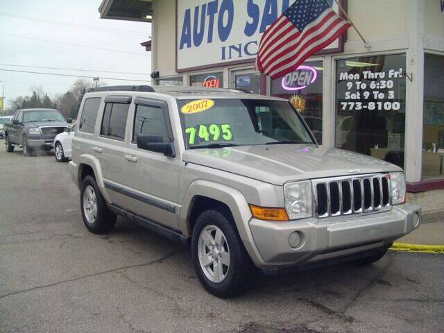 2007 Jeep Commander for sale at G & L Auto Sales Inc in Roseville MI