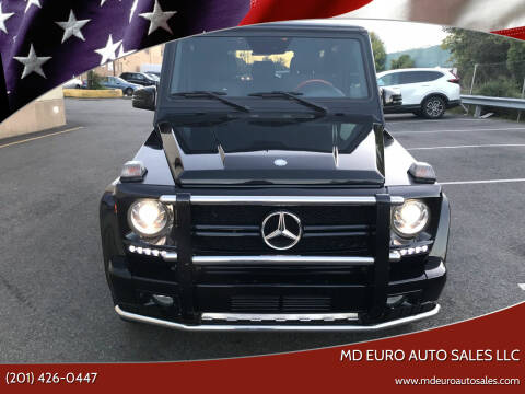 2011 Mercedes-Benz G-Class for sale at MD Euro Auto Sales LLC in Hasbrouck Heights NJ