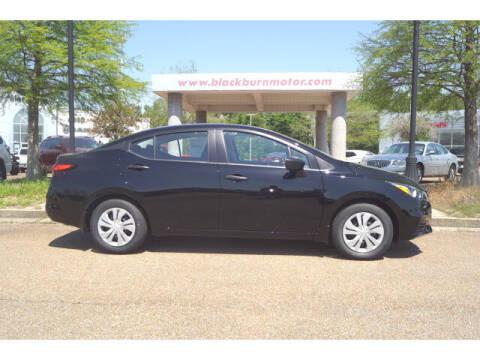 2021 Nissan Versa for sale at BLACKBURN MOTOR CO in Vicksburg MS