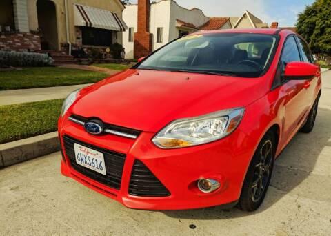 2012 Ford Focus for sale at Apollo Auto El Monte in El Monte CA