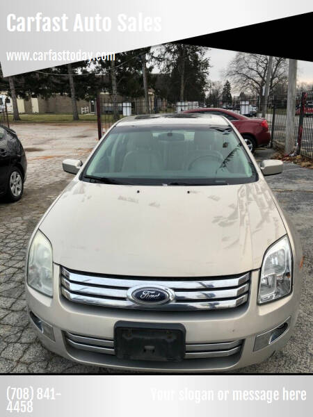 2009 Ford Fusion for sale at Carfast Auto Sales in Dolton IL