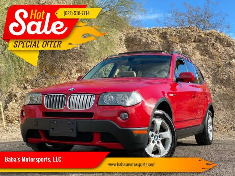 2008 BMW X3 for sale at Baba's Motorsports, LLC in Phoenix AZ