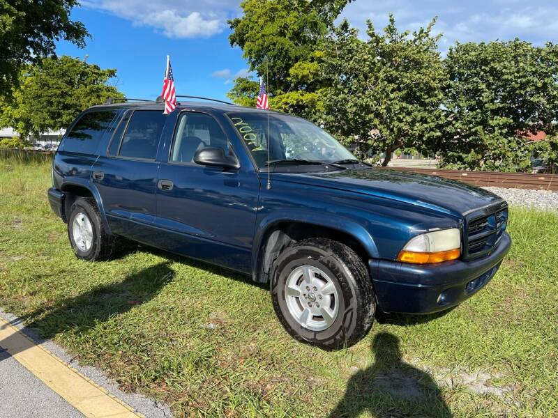 2002 Dodge Durango for sale at WRD Auto Sales in Hollywood FL