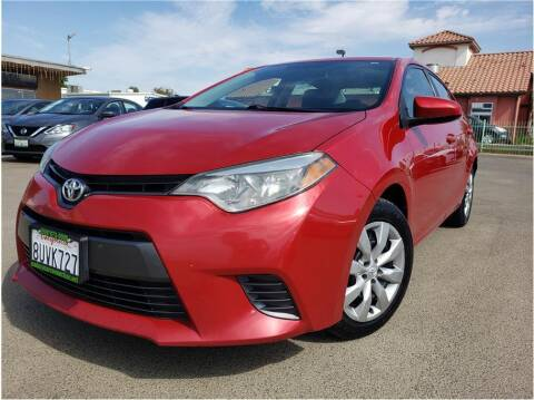 2016 Toyota Corolla for sale at MADERA CAR CONNECTION in Madera CA