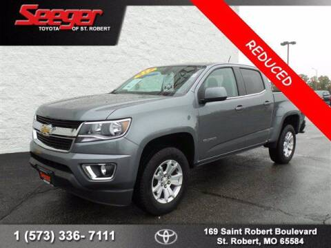 2019 Chevrolet Colorado for sale at SEEGER TOYOTA OF ST ROBERT in St Robert MO