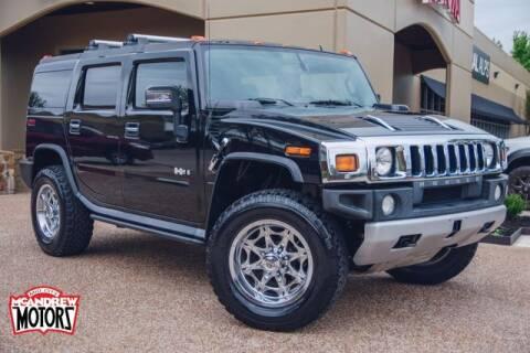 2008 HUMMER H2 for sale at Mcandrew Motors in Arlington TX