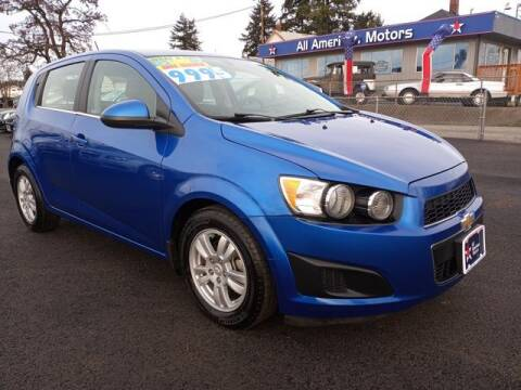 2016 Chevrolet Sonic for sale at All American Motors in Tacoma WA