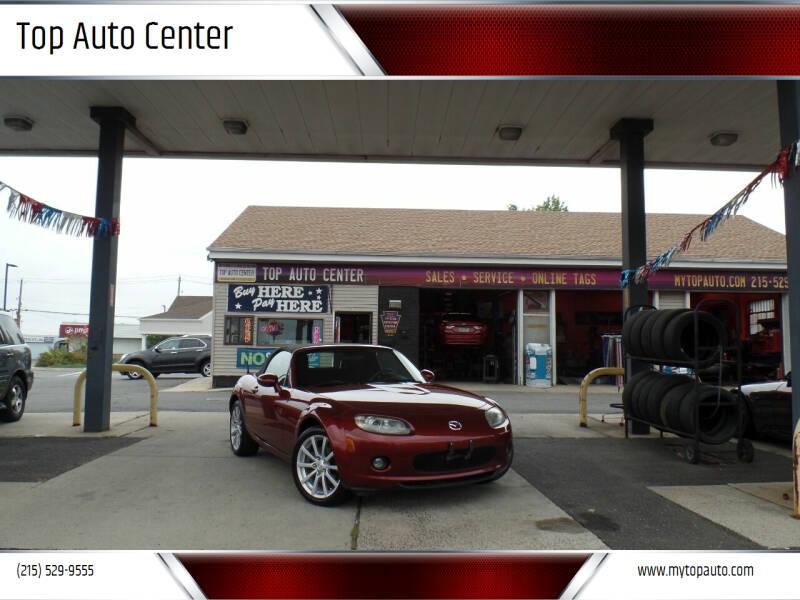 2006 Mazda MX-5 Miata for sale at Top Auto Center in Quakertown PA