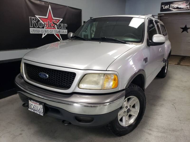 2002 Ford F-150 for sale at ROCKSTAR USED CARS OF TEMECULA in Temecula CA