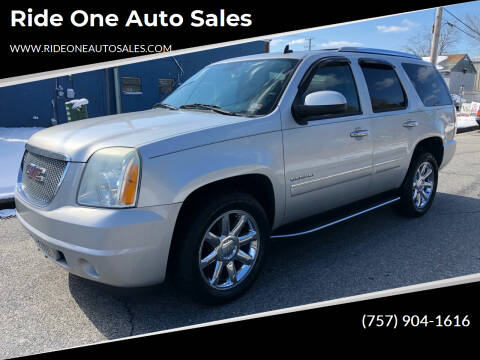 2010 GMC Yukon for sale at Ride One Auto Sales in Norfolk VA