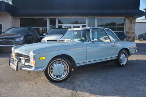 1969 Mercedes-Benz 280-Class for sale at Amyn Motors Inc. in Tucker GA