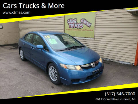 2010 Honda Civic for sale at Cars Trucks & More in Howell MI