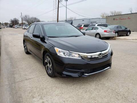 2016 Honda Accord for sale at Image Auto Sales in Dallas TX