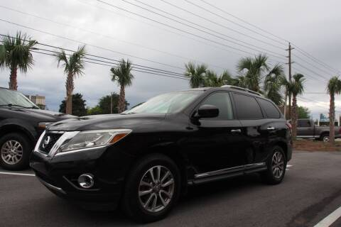 2013 Nissan Pathfinder for sale at Gulf Financial Solutions Inc DBA GFS Autos in Panama City Beach FL