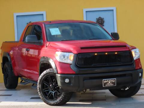 2017 Toyota Tundra for sale at Paradise Motor Sports LLC in Lexington KY