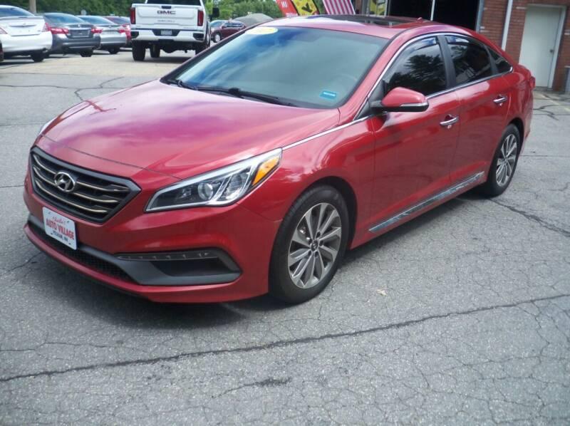 2017 Hyundai Sonata for sale at Charlies Auto Village in Pelham NH