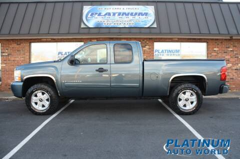 2008 Chevrolet Silverado 1500 for sale at Platinum Auto World in Fredericksburg VA