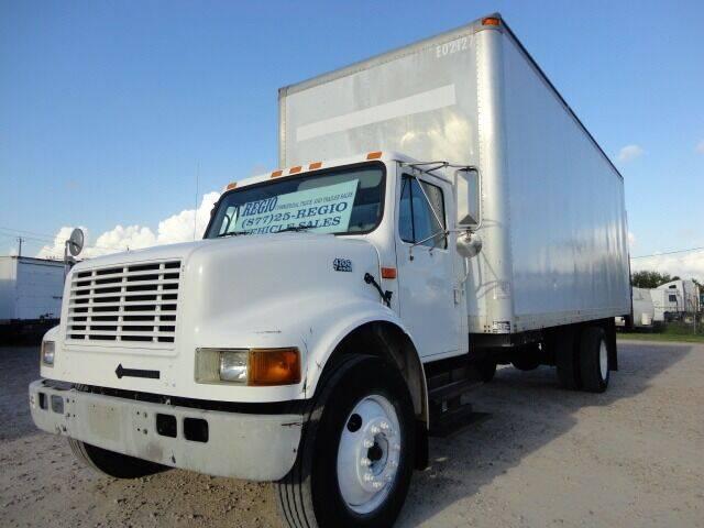 2000 International 4700 for sale at Regio Truck Sales in Houston TX