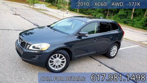 2010 Volvo XC60 for sale at Wheeler Dealer Inc. in Acton MA