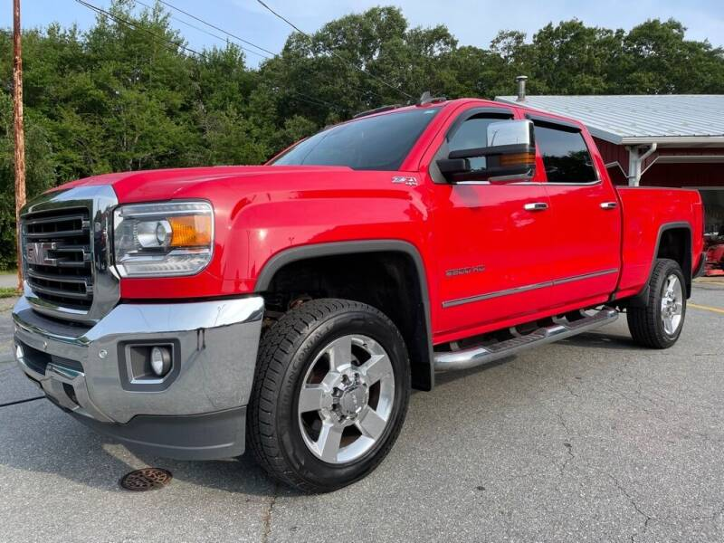 2016 GMC Sierra 2500HD for sale at RRR AUTO SALES, INC. in Fairhaven MA