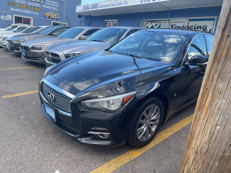 2014 Infiniti Q50 for sale at Ideal Cars in Hamilton OH